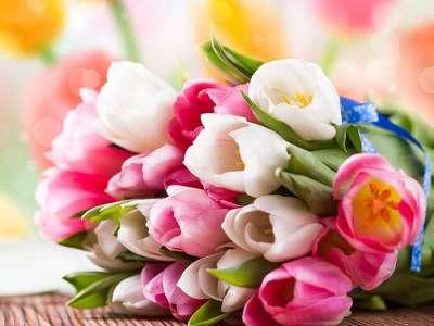 158565 tavaszi tulipán csokor