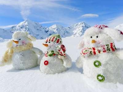 tél hóemberek 206303